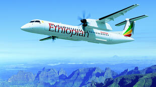 """Ce sont des avions """"Bombardier"""" qui assurent les liaisons intérieures /"""