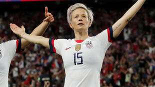 Mid-fielder Megan Rapinoe named player of the match for her role in defeating hosts France 2-1 in the Women's World Cup quarter final on 28 June, 2019.