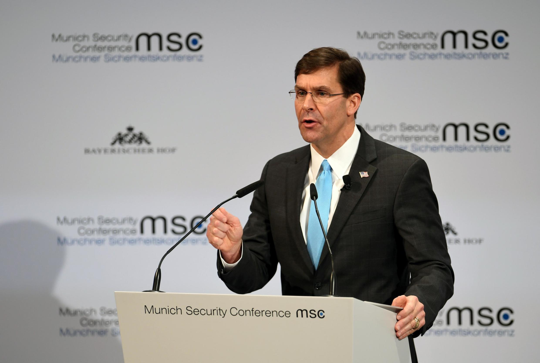 郑景斗将同美国国防部长埃斯珀举行会谈