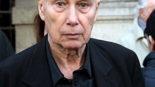 El escritor Gabriel Matzneff en 2014.