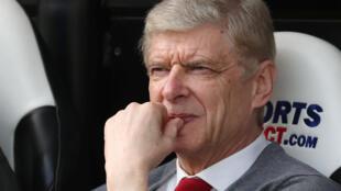 Tsohon mai horar da 'yan wasan Arsenal, Arsenal Wenger.