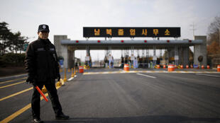 Coreia do Sul propõe negociações militares com Coreia do Norte. Foto: soldado em uma zona desmilitarizada que separa as duas Coreias, em Paju, Coréia do Sul, 11 de fevereiro de 2016.