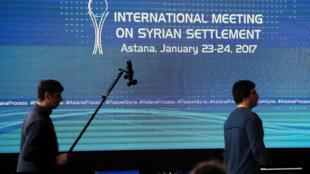 Empezaron este lunes  las negociaciones en Astana con emisarios del régimen sirio y de grupos rebeldes.