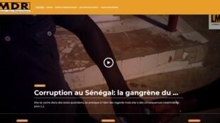 Site de la Maison des reporters.