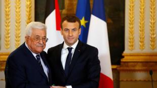 Le président français Emmanuel Macron a déjà reçu Mahmoud Abbas en décembre 2017 à l'Elysée.