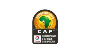 Le logo du CHAN 2020 au Cameroun.