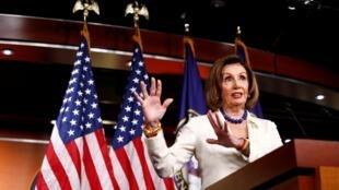 Nancy Pelosi, shugabar majalisar wakilan kasar Amurka.