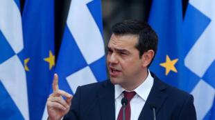 Ngay từ hôm 22/06/2018, trước Quốc Hội Hy Lạp, thủ tướng Alexis Tsipras đã thông báo sắp sang trang khủng hoảng tài chính.