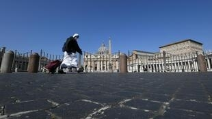 2020-03-31 italy coronavirus lockdown vatican holy week easter