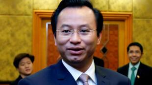 Ông Nguyễn Xuân Anh, nguyên bí thư thành ủy Đà Nẵng. Ảnh chụp lúc ông dự một hội nghị tại Hà Nội ngày 24/03/2017.