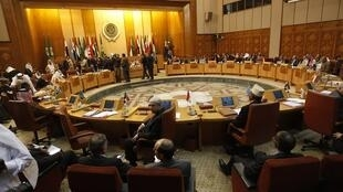 The Arab League meeting in Cairo
