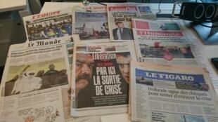Diários franceses 31.05.2016