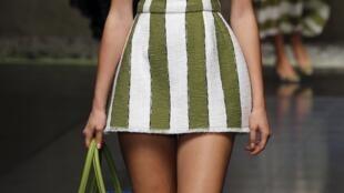 Desfile da coleção primavera-verão de 2013 da marca Dolce & Gabbana.