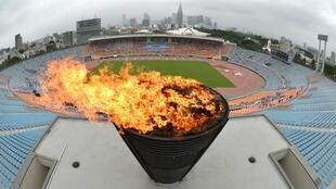 Sân vận động quốc gia Tokyo, 08/09/2013.