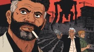 Couverture de la bande dessinée «Le dernier atlas», de Fabien Vehlmann et Hervé Tanquerelle.