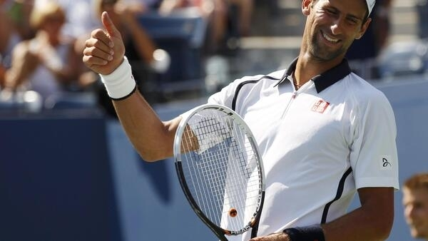 O tenista sérvio Novak Djokovic eliminou o brasileiro Rogério Dutra Silva do Aberto dos Estados Unidos.