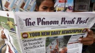 Tờ báo độc lập Phnom Penh Post của Cam Bốt đã được chuyển nhượng cho một người Malaysia.