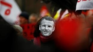 Franceses nas ruas contra projecto reforma das pensões