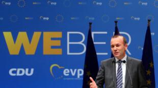 Manfred Weber, candidato do PPE, para o posto de presidente da comissão europeia