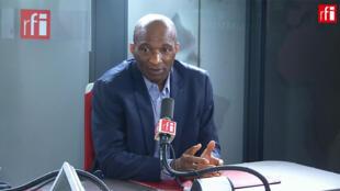 Michel-Thierry Atangana, doyen des Français détenus par un État étranger sur RFI, le 15 octobre 2019.