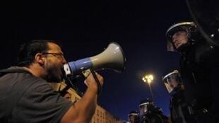 Manifestação em frente ao Parlamento de Lisboa na semana passada.