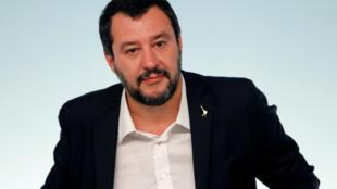 Глава МВД Италии Маттео Сальвини