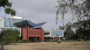 The Cheikh Anta Diop University library building in Dakar
