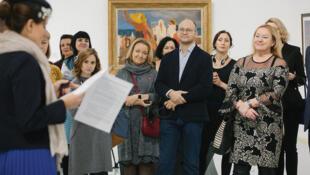 Презентация международного travel-art-проекта «По следам Парижской школы»