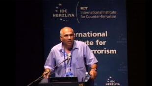 Général Nitzan Nuriel, expert du contre-terrorisme et de la cyber-défense (capture d'écran).