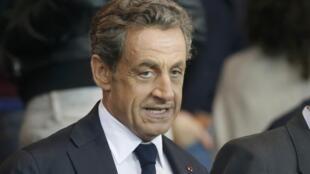 Nicolas Sarkozy in September 2014.