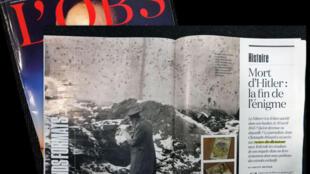 A revista francesa L'Obs traz novos esclarecimentos sobre a morte de Adolf Hitler.