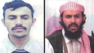 Une affiche de la police yéménite datant de 2010 montre deux photos de Qassem al-Rimi, dont la mort a été confirmée par Aqpa dimanche 23 février 2020.
