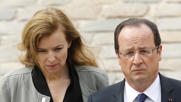 François Hollande anunciou oficialmente o fim de seu relacionamento com a primeira-dama Valérie Trierweiler.