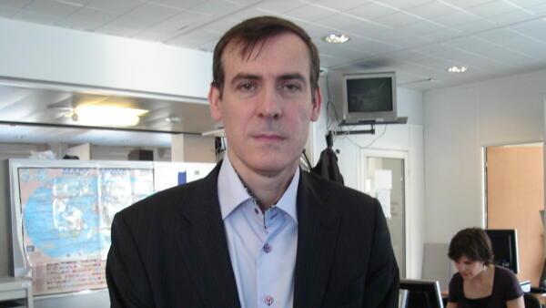 Stéphane Monclaire, cientista político e professor da Sorbonne.