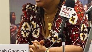 Nobel Peace laureate Leymah Gbowee