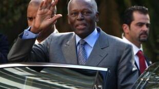 José Eduardo dos Santos, presidente de Angola.