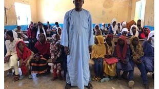 Classe de CM2, école arabophone Sultan Kasser, NDjamena.