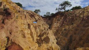 Exploitation d'une mine de Ndassima, en Centrafrique (image d'illustration).