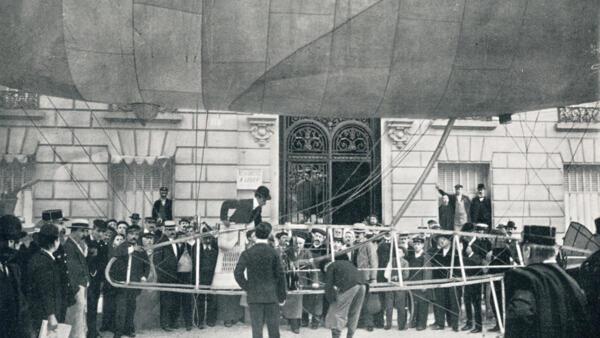 Capítulo 13: Santos Dumont, o homem pássaro