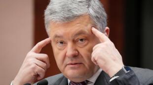 Петр Порошенко в Киеве 14 апреля 2019