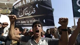 As anger over the anti-Islam film spreads, demonstrators stormed the American embassy in Saana, Yemen