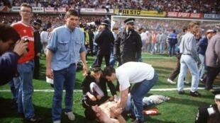 Estadio de Hillsborough, el 15 de abril de 1989: la peor tragedia de la historia del deporte británico.