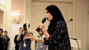 Alaa Murabit, president of the association The Voice of Libyan Women