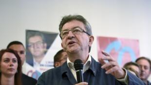 Jean-Luc Mélenchon é o chefe da esquerda radical e o principal nome da oposição francesa.