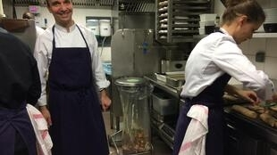 """François Pasteau's team of chefs practise """"waste not, want not"""" at the L'Epi Dupain restaurant"""