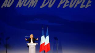 Marine Le Pen tem atraído cada vez mais jovens