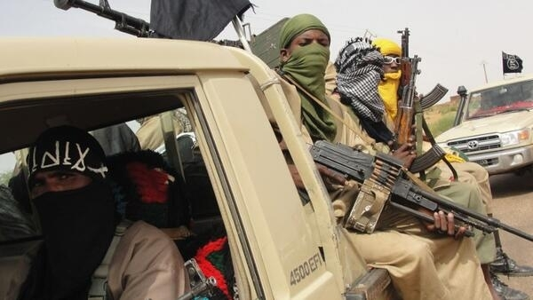 Fighters from the Islamist group Ansar Dine in Mali
