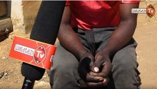 Screen grab from an 9 August Watetezi TV program reported in Iringa