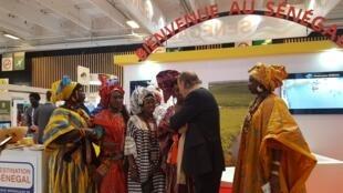 Le Sénégal promeut sa destination pour renforcer son tourisme lors de l'IFTM Top Resa, le 25 septembre 2018 à Paris.