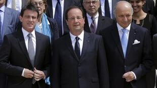 Cabint meeting of French government, 18 June.